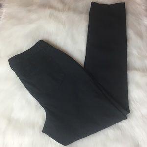 Ashley Stewart Black Jeans 14 Tall Straight